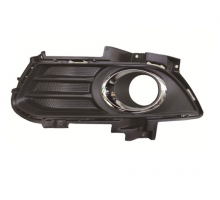 Ford Fusion Mondeo 2013-17 Заглушка решетка накладка противотуманной фары птф ЛЕВАЯ МАТОВАЯ